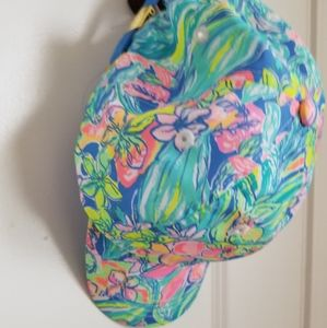 Lilly Pulitzer ball cap